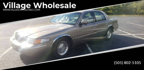 2001 Mercury Grand Marquis for sale at Village Wholesale in Hot Springs Village AR