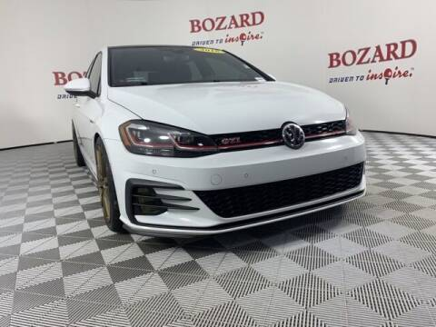 2018 Volkswagen Golf GTI for sale at BOZARD FORD in Saint Augustine FL