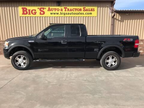 2005 Ford F-150 for sale at BIG 'S' AUTO & TRACTOR SALES in Blanchard OK