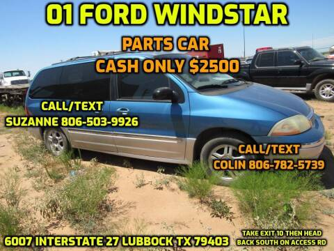 2001 Ford Windstar for sale at West Texas Consignment in Lubbock TX