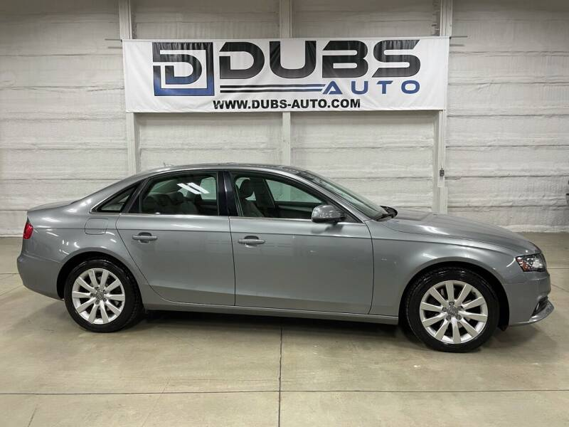 2010 Audi A4 for sale at DUBS AUTO LLC in Clearfield UT