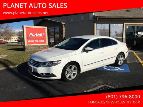 2015 Volkswagen CC for sale at PLANET AUTO SALES in Lindon UT