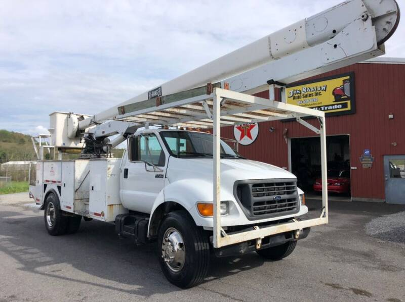 2000 Ford F-750 Super Duty for sale in Johnstown, PA