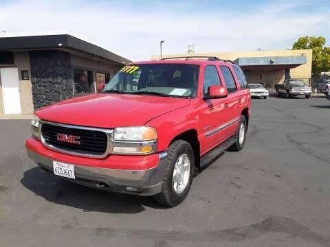 2002 GMC Yukon for sale at Nor Cal Auto Center in Anderson CA