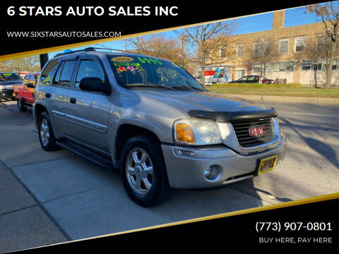 2004 GMC Envoy for sale at 6 STARS AUTO SALES INC in Chicago IL