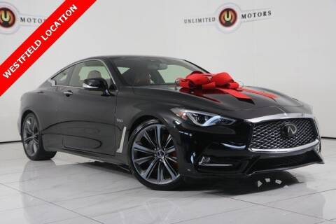 2019 Infiniti Q60 for sale at INDY'S UNLIMITED MOTORS - UNLIMITED MOTORS in Westfield IN