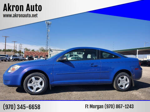 2008 Chevrolet Cobalt for sale at Akron Auto - Fort Morgan in Fort Morgan CO