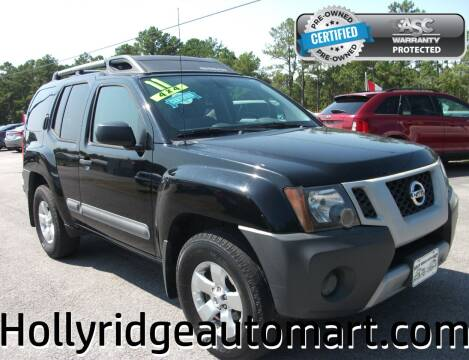 2011 Nissan Xterra for sale at Holly Ridge Auto Mart in Holly Ridge NC