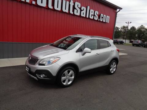 2015 Buick Encore for sale at Stout Sales in Fairborn OH