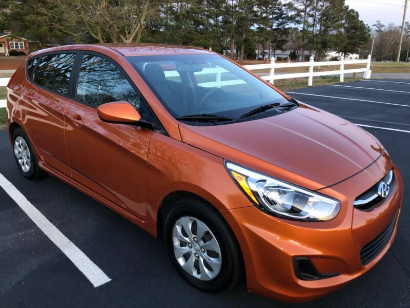 2017 Hyundai Accent for sale in Kenly, NC