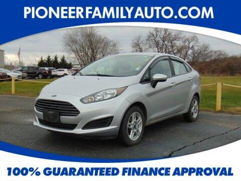 2017 Ford Fiesta for sale at Pioneer Family auto in Marietta OH