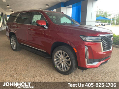 2021 Cadillac Escalade for sale at JOHN HOLT AUTO GROUP, INC. in Chickasha OK