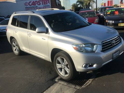 2008 Toyota Highlander for sale at CARSTER in Huntington Beach CA
