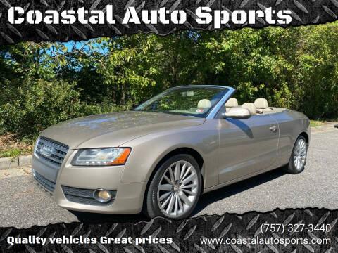 2010 Audi A5 for sale at Coastal Auto Sports in Chesapeake VA