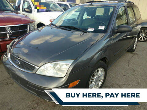 2007 Ford Focus for sale at ZOOM CARS LLC in Sylmar CA