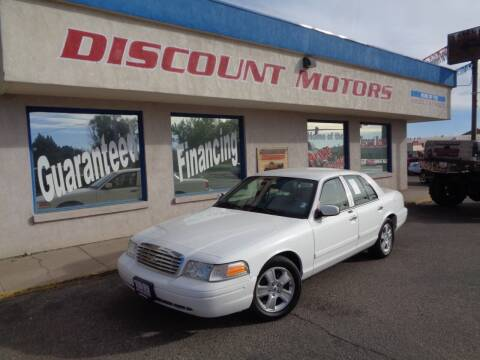 2011 Ford Crown Victoria for sale at Discount Motors in Pueblo CO