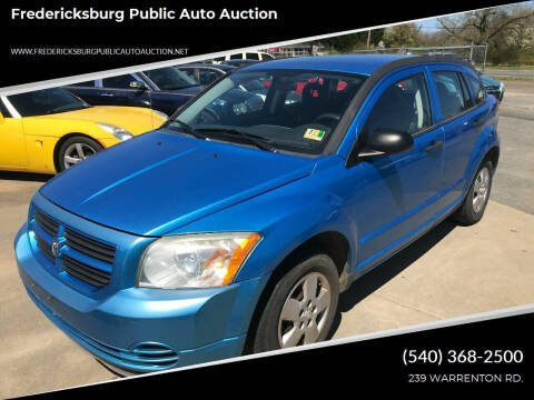 2008 Dodge Caliber for sale at FPAA in Fredericksburg VA