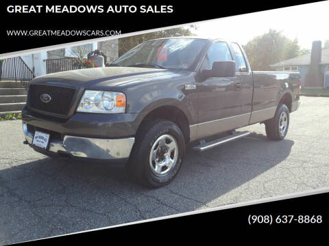 2005 Ford F-150 for sale at GREAT MEADOWS AUTO SALES in Great Meadows NJ