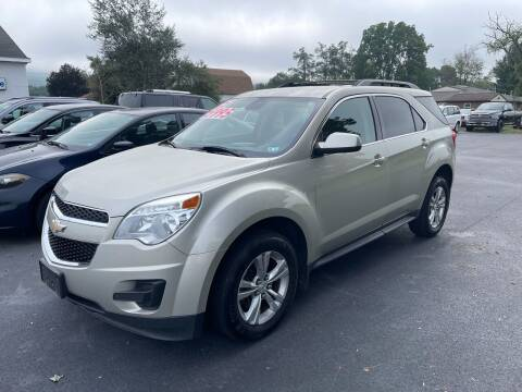 2015 Chevrolet Equinox for sale at Chilson-Wilcox Inc Lawrenceville in Lawrenceville PA