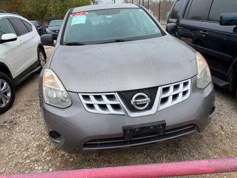 2013 Nissan Rogue for sale at BULLSEYE MOTORS INC in New Braunfels TX