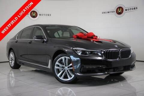 2016 BMW 7 Series for sale at INDY'S UNLIMITED MOTORS - UNLIMITED MOTORS in Westfield IN