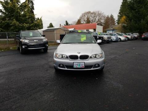 2004 BMW 3 Series for sale at ET AUTO II INC in Molalla OR