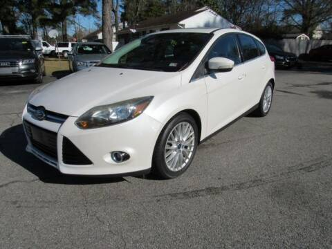 2013 Ford Focus for sale at Atlantic Auto Sales in Chesapeake VA