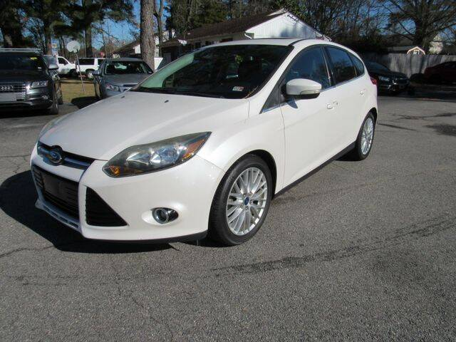 2013 Ford Focus for sale at Atlantic Auto Sales in Chesapeake VA