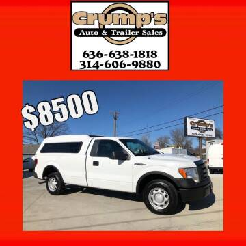 2012 Ford F-150 for sale at CRUMP'S AUTO & TRAILER SALES in Crystal City MO