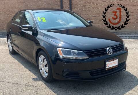 2012 Volkswagen Jetta for sale at 3 J Auto Sales Inc in Arlington Heights IL