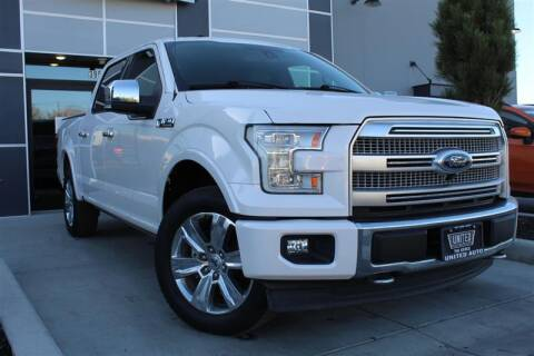2017 Ford F-150 for sale at UNITED AUTO in Millcreek UT