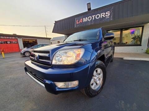 2003 Toyota 4Runner for sale at LA Motors LLC in Denver CO