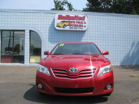 2011 Toyota Camry for sale at Unlimited Auto Sales & Detailing, LLC in Windsor Locks CT
