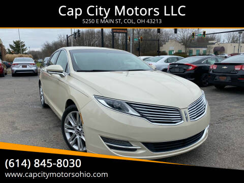 2014 Lincoln MKZ for sale at Cap City Motors LLC in Columbus OH