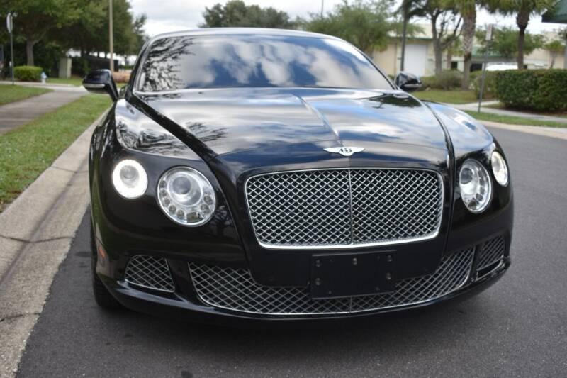2012 Bentley Continental for sale at Monaco Motor Group in Orlando FL