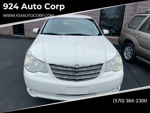 2007 Chrysler Sebring for sale at 924 Auto Corp in Sheppton PA