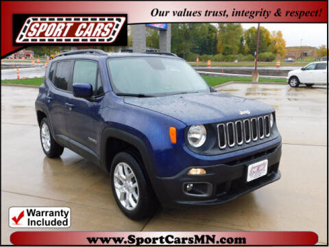 2017 Jeep Renegade for sale at SPORT CARS in Norwood MN