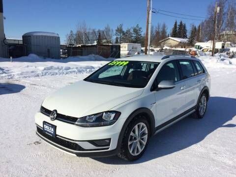 2018 Volkswagen Golf Alltrack for sale at Delta Car Connection LLC in Anchorage AK