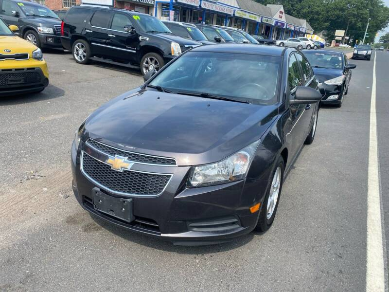 2014 Chevrolet Cruze for sale at Manchester Motors in Manchester CT