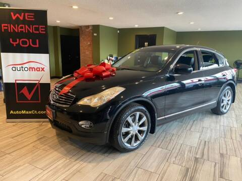 2012 Infiniti EX35 for sale at AutoMax in West Hartford CT