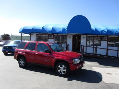 2004 Chevrolet TrailBlazer for sale at Jim's Cars by Priced-Rite Auto Sales in Missoula MT