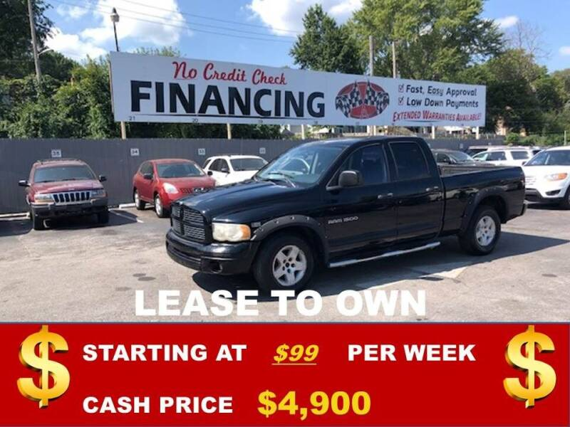 2004 Dodge Ram Pickup 1500 for sale at Auto Mart USA in Kansas City MO