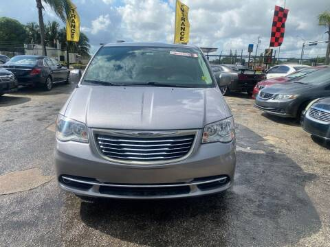 2016 Chrysler Town and Country for sale at America Auto Wholesale Inc in Miami FL