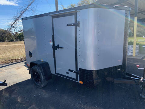 2021 CARGO CRAFT 6X10 RAMP for sale at Trophy Trailers in New Braunfels TX