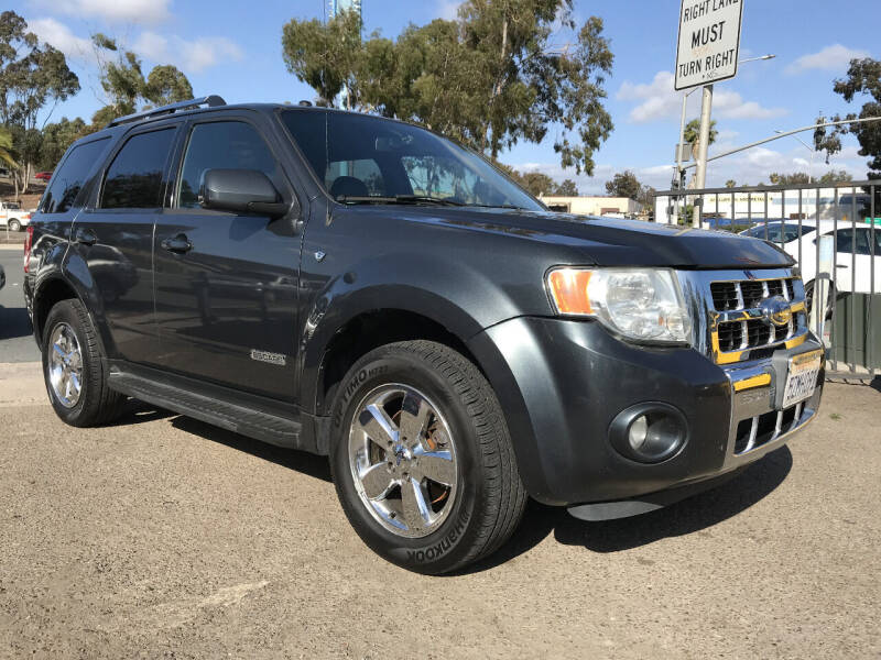 2008 Ford Escape for sale at Beyer Enterprise in San Ysidro CA