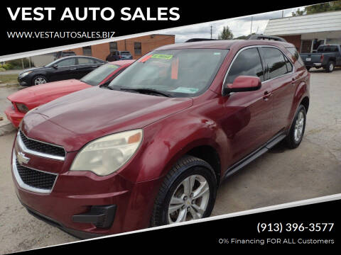 2010 Chevrolet Equinox for sale at VEST AUTO SALES in Kansas City MO
