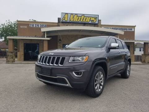 2015 Jeep Grand Cherokee for sale at A MOTORS SALES AND FINANCE - 10110 West Loop 1604 N in San Antonio TX