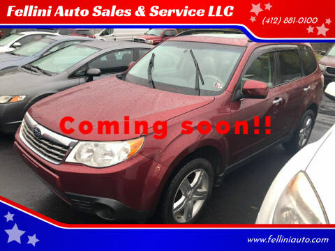 2010 Subaru Forester for sale at Fellini Auto Sales & Service LLC in Pittsburgh PA