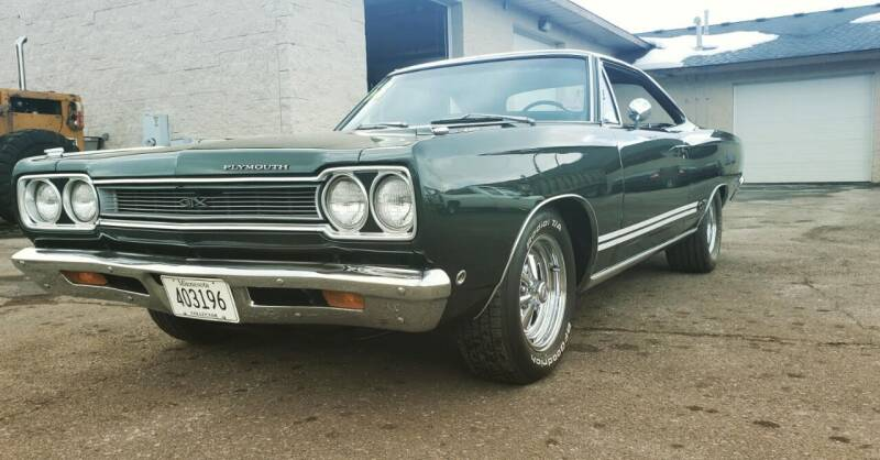 1968 Plymouth GTX for sale at Midwest Classic Car in Belle Plaine MN