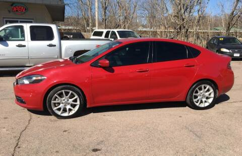 2013 Dodge Dart for sale at Gordon Auto Sales LLC in Sioux City IA